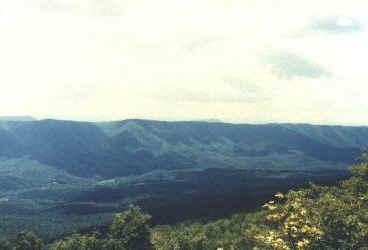 Virginia ridges