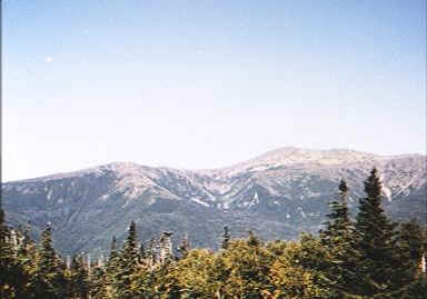 The Presidentials from the Carter-Moriah Range